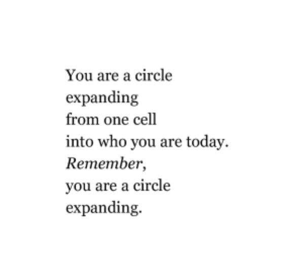 You Are a Circle