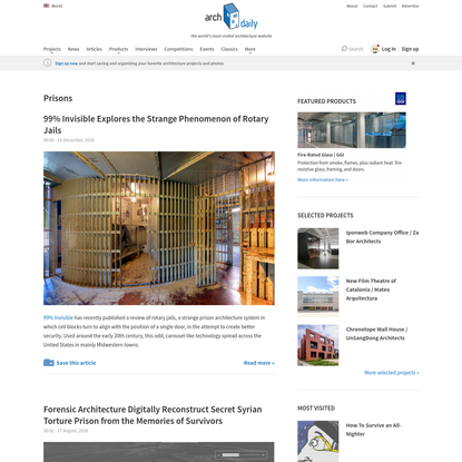Prisons | Tag | ArchDaily