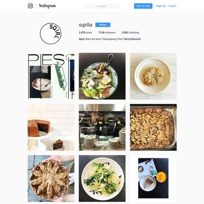Sqirl (@sqirlla) * Instagram photos and videos