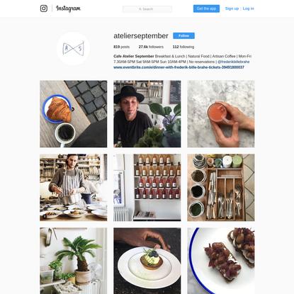Cafe Atelier September (@atelierseptember) * Instagram photos and videos
