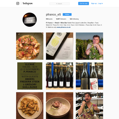 P. Franco - Retail + Wine Bar (@pfranco_e5) * Instagram photos and videos