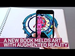 'Prosthetic Reality' book brings augmented reality to art
