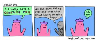 Creative Job - Webcomic Name