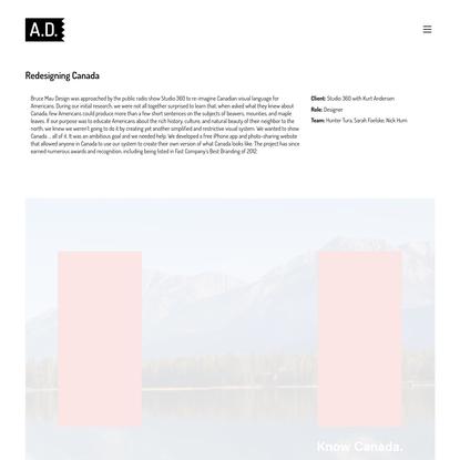 Alec Donovan - Redesigning Canada