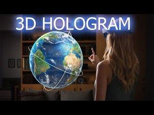 How To Make 3D BIG Hologram Projector