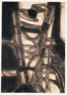 Untitled 1958, Lee Bontecou