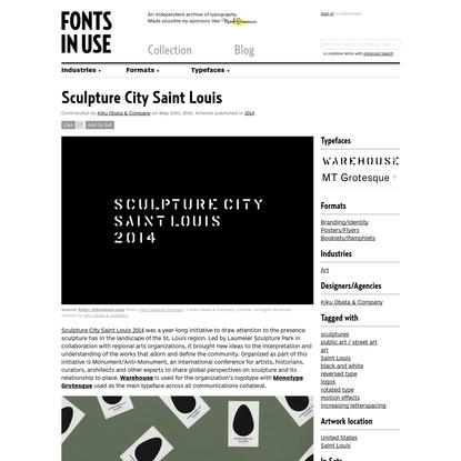 Sculpture City Saint Louis
