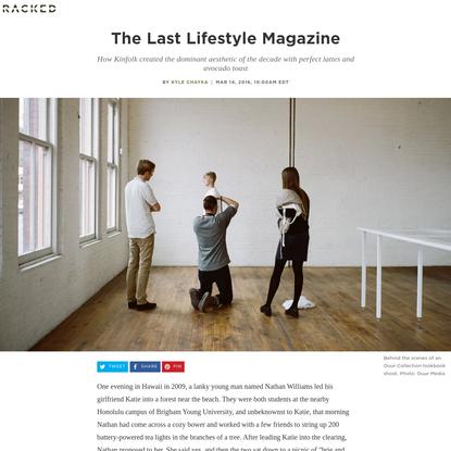 Is Kinfolk the Last Lifestyle Magazine?