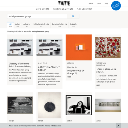 Search results | Tate