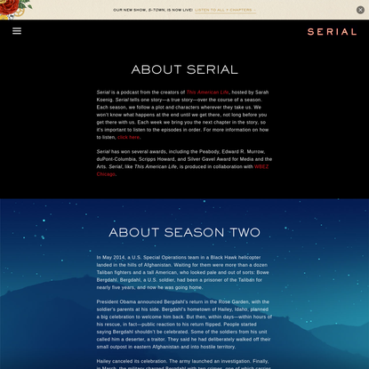 About Serial