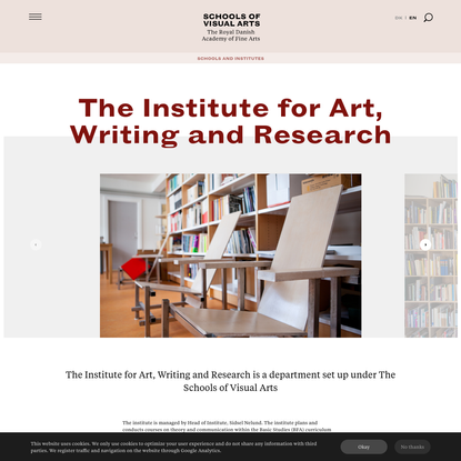 The Institute for Art, Writing and Research
