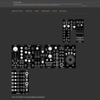 Befaco.org: Build your Modular Synth DIY
