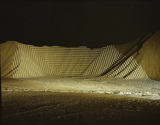 Jim Sanborn Topographic Projections and Implied Geometries Series