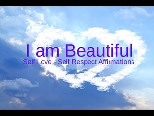"Self-Love Affirmations: ""I am Beautiful"" Affirm your Self Worth"
