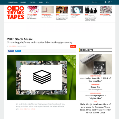 2017: Stack Music