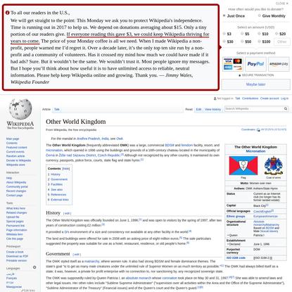 Other World Kingdom - Wikipedia