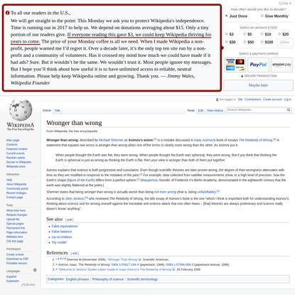 Wronger than wrong - Wikipedia