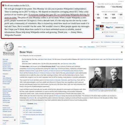 Bone Wars - Wikipedia