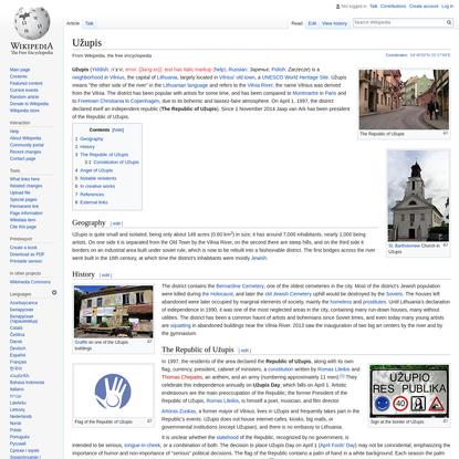 Užupis - Wikipedia
