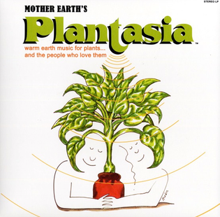 Warm earth music for plants