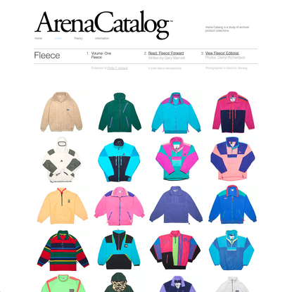 Arena-Catalog   Home   VOL 1- FLEECE