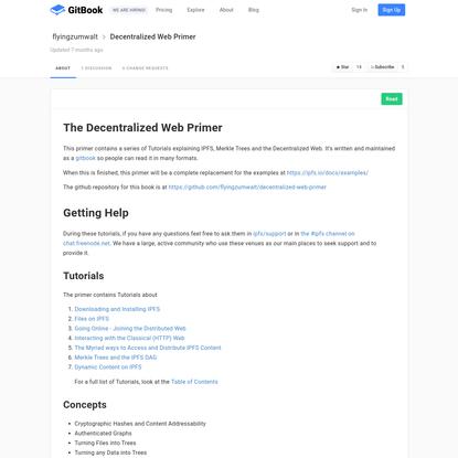 Decentralized Web Primer · GitBook