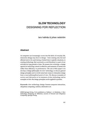 Redstrom-Slow-Technology.pdf
