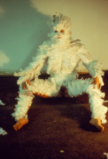 Ana Mendieta, Bird Transformation (1972)