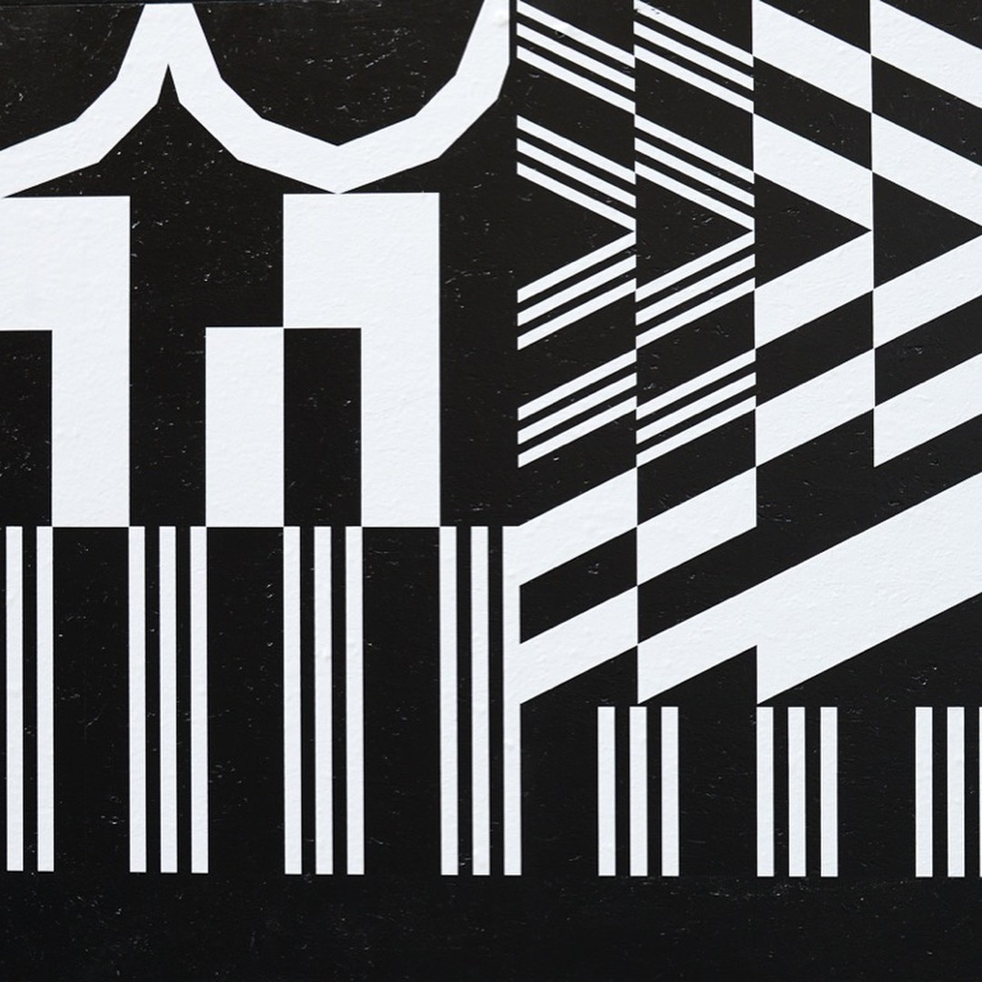One Pic per Day 22 - Generative patterns at Galerie Néon, Lyon, octobre 2016, photos : Anne Simonnot #superscript2 #pattern #generativedesign #processing #graphicdesign #randomprints @artprint_