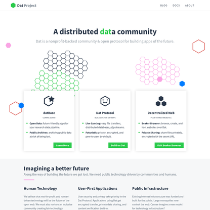 Dat Project - A Distributed Data Community
