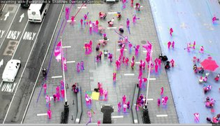 Times Square Crowd Tracking Prototype
