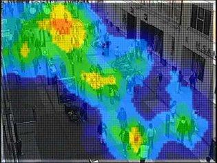 Crowd Density Heatmap