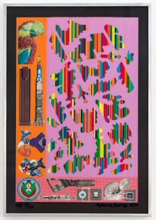 Eduardo Paolozzi, Human Fate and World Power, 1970