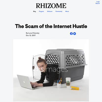 The Scam of the Internet Hustle