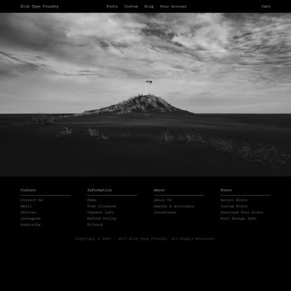 Klim Type Foundry · Home