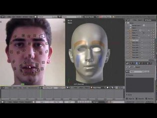 Facial Motion Capture with Blender