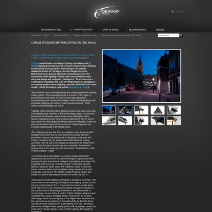 Slimme dynamische verlichting in Den Haag - Klassieke koperen buitenverlichting, straatverlichting en tuinverlichting