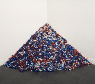 "Felix Gonzalez-Torres ""Untitled"" (USA Today), 1990"