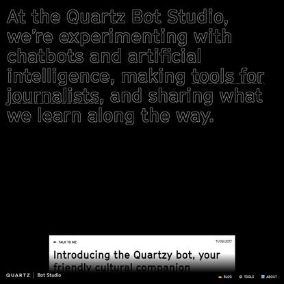 Quartz Bot Studio