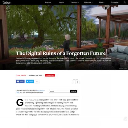 The Digital Ruins of a Forgotten Future