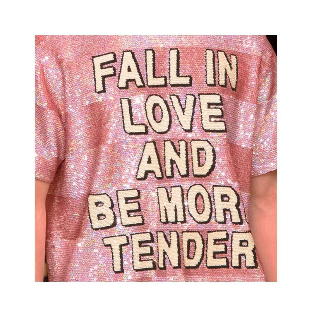 Fall in love and be more tender