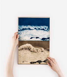 Anne Collier, Open Book (Waves), 2015