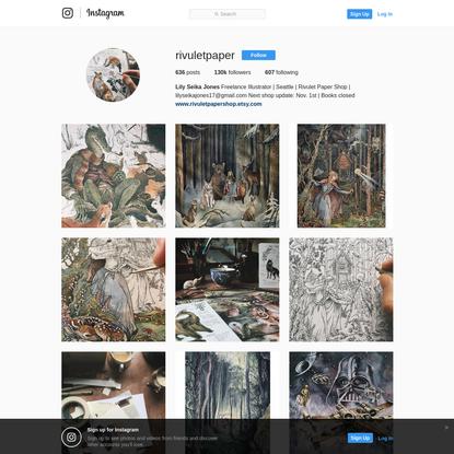 Lily Seika Jones (@rivuletpaper) * Instagram photos and videos
