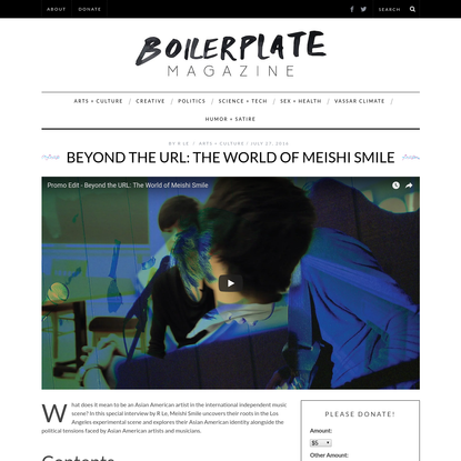 Beyond the URL: The World of Meishi Smile