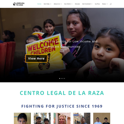 Home | Centro Legal de la Raza