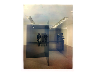 Larry Bell, Pace Gallery installation