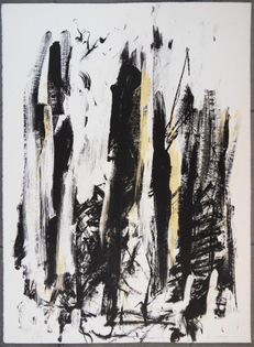 Joan Mitchell, Trees with Yellow (1991)