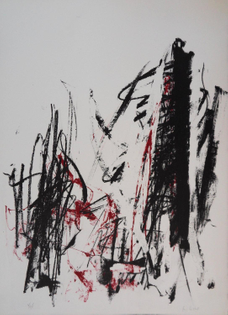 Joan Mitchell, Trees in Red (1991-92)