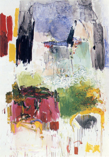 Joan Mitchell, Low Water (1969)