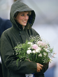 Barbour jacket, Princess Diana in Scotland's Western Isles (1985)